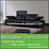 2015 leisure office sofa, foshan classical leather sofa, new design fashion section sofa