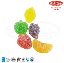 Sour colorful fruit candy