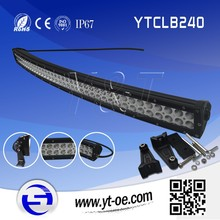 China online shopping! IP68 240w e r led light bar light for car 4x4 vehicle driving