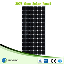 Factory Price OEM High Quality Portable 300w pv solar panel