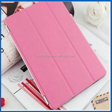 Crystal Back Translucent Tri-Fold Stand Cover Case for Apple iPad 4 3 & 2