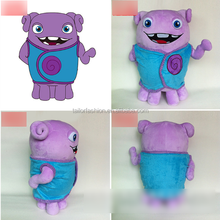 2015 new Dreamworks Movie HOME OH Boov Rainb Plush Doll 40cm Captain Smek animation in Europe Plush Toy Birthday Gift baby Toy