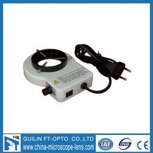 FI152 fluorescent ring light for stereo microscope, Adjustable brightness