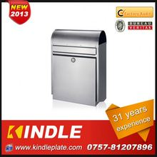 Kindle modern wall mounted OEM & ODM High Quality steel letterbox for sale with 31 years experience