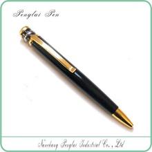 metal pen clips for free logo,High quality metal twist ball pen
