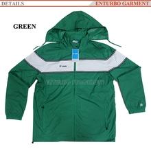 Hot sale Stock Waterproof Cheap Rain Jackets in Garment Stocklots