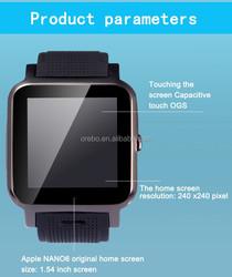 Andorid wifi watch phone/ 3G smart wach phone/ HOT SALE GPS smart watch