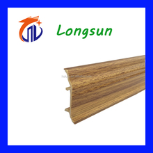 top quality wood textures pvc mdf skirting board