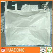 square type pp big bag 5:1 1000kg big bag safety factor with virgin pp material for powder