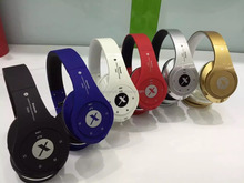 Portable headband wireless bluetooth music headset earphone mic control talk stereo dynamic headphone