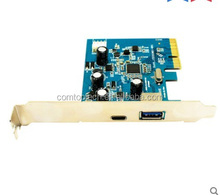PCI express card to serial 2 ports with driver