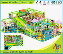 GM20130620 SIBO indoor kids plastic play naughty castle