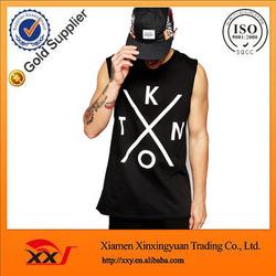 custom jersey t shirt off the shoulder t-shirt wholesale sleeveless t shirtwith dropped armhole alibaba china