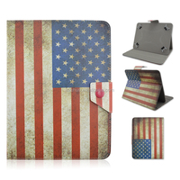 """Universal Folio Leather Flip Case Cover For Android/Apple Tablet PC 10"""""""