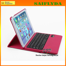 High Quality 9.7 inch Tablet Leather Keyboard Case Wireless Bluetooth Keyboard Case for iPad Air 5