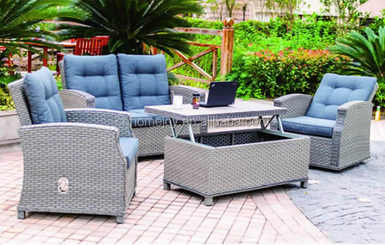 outdoor garden furniture modular sofa sets on cheap western furniture