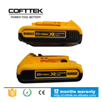 China Wholesale Dewalt 20v Power Tools 4.0AH Battery DCB204 Li-iON Wireless Combo Kit Cells