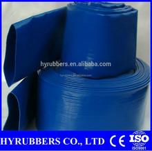 China manufacturer PVC high pressure Lay flat Hose price inch