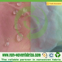 pp spun nowoven fabric/hydrophilic and hydrophobic configurations