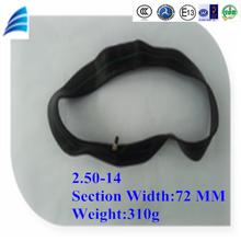 Cina 2,50-14 elevata e stabile qualità parti del motociclo moto e il tubo interno per pneumatici