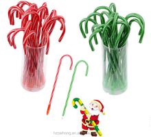 Wholesale cheap Christmas item stationery canes ball pen for promotion CH-6718