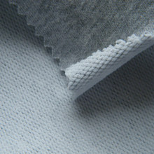 warm 100% cotton looped knit fabric prices