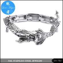 Occident fashion men's bracelet restoring ancient ways dragon bracelet MJBC-057