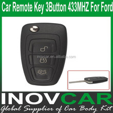 Auto Remote Key 3Button 433MHZ For Ford Car Remote Key