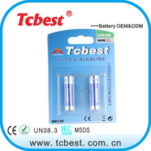 Cheapest factory best selling product 1.5v aaa am4 lr03 alkaline battery