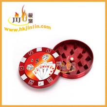 Yiwu jl-184j jiju glorioso accesorios de fumar hierba ronda molinillo de especias