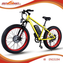 Off road electric bicycle Hub Motor 350W E-bike Electric bicycle New CHina For sale