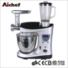 7L 1100W Multifunctional Electric Dough Stand Mixer with heating function