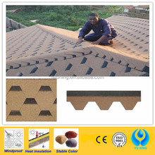 hexagonal asphalt shingle