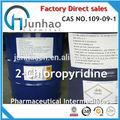 Productos intermedios farmacéuticos 2- chloropyridine 109-09-1 cas