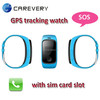 Hand watch mobile phone gps gsm smart watch gps tracking mobile watch for kids children