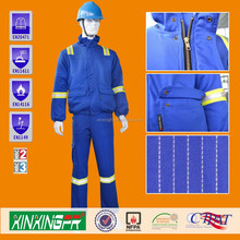 NFPA2112 & ASTM D6413 COPY INDURA 88&cotton 12%nylon flame retardant uniform protective garment