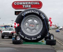 commercial custom inflatable tire/tyre replica for sale