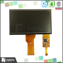 7 inch touchscreen monitor with touch controller IIC interface