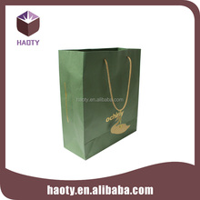 Custom decorative paper bags with handle
