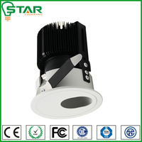 hotel used small hole dimmable rectangular recessed led ceiling downlight