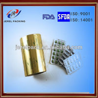 Pharmaceutical packing tablet and capsule materials with alloy 8011 H 18 Aluminum Film