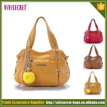 Guangzhou fashion ladies purses and pu handbags brand name