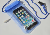Waterproof Phone Wallet Pouch Swimming Diving Surfing Case Bag for Smart Phone Samsung iPhone with earphone jack