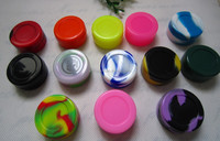 38mm colorful FDA approved butane hash oil silicone container 7ml