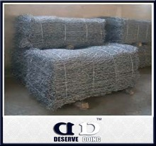 heavy galvanized gabion boxes/gabion basket sizes/zinc coated gabion box wire mesh