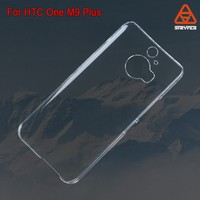 Biaoxin mobile phone case cosmetic case PC transparent pencil cover for HTC New One M9 Plus