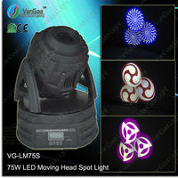 VANGAA VG-LM75S 75w spot moving head led stage light mixer