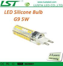 G9 Lamp Base 5W 110V 220V Small Size LED G9 Lamp 72PCS SMD2835 G9 Halogen LED Lamps Warm White