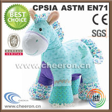 Super softness plush rocking horse toy made in China