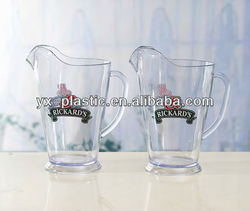 2013 hot sale plastic 3 pint pitchers, /Bar Party Club Disco /Energy drink pitcher